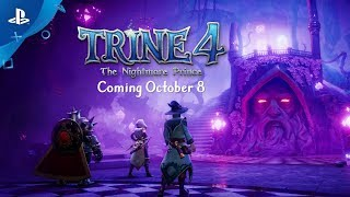 Trine 4 - Release Date Reveal Trailer | PS4