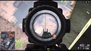 Battlefield 4-LMG Rooftop Sniping (HD PVR Hauppauge GE Test)