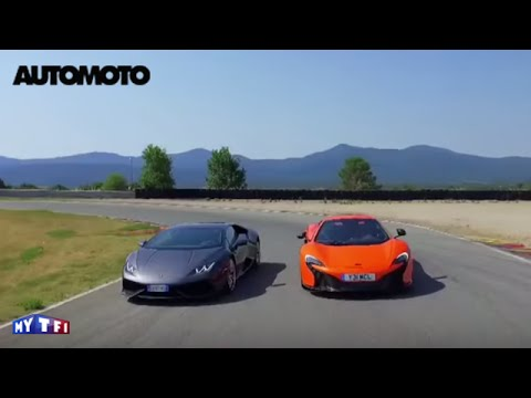 lamborghini huracan vs mclaren 650s on top gear hot lap doovi. Black Bedroom Furniture Sets. Home Design Ideas