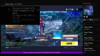 Live Fortnite 180 Win/On rush the challenges for the super production skin /FR