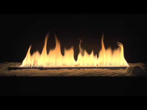 Sand Media - Gas Fireplaces - Ventless Fireplace - YouTube
