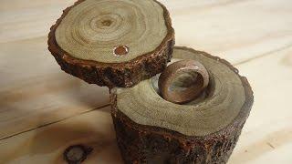 cara membuat cincin kayu (hadiah anniversary)
