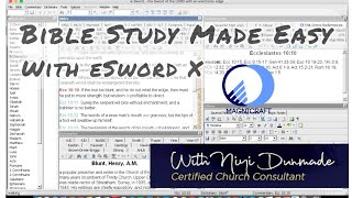 Bible Study Made Easy With eSword X on Mac
