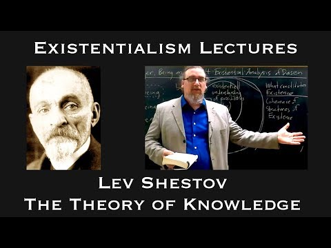 "Existentialism: Lev Shestov, ""The Theory of Knowledge"""