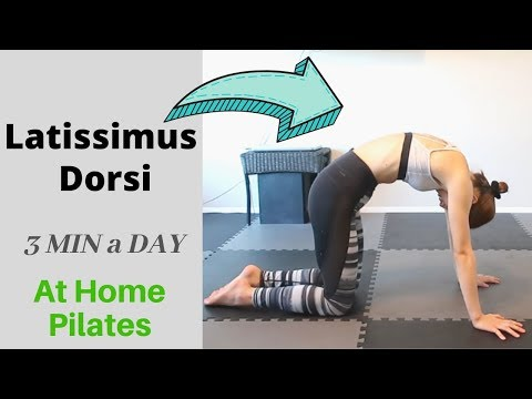 [Song Pilates] 3MIN Latissimus Dorsi while lying down!