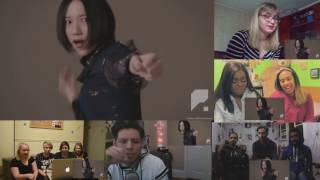 Perfume 「FLASH」 MV  Reaction mushup