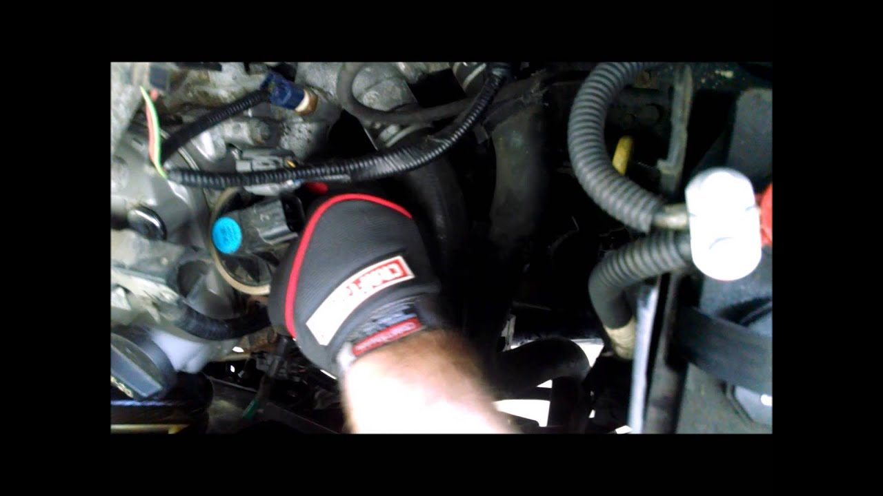 2005 Honda Pilot Egr Replacement Youtube