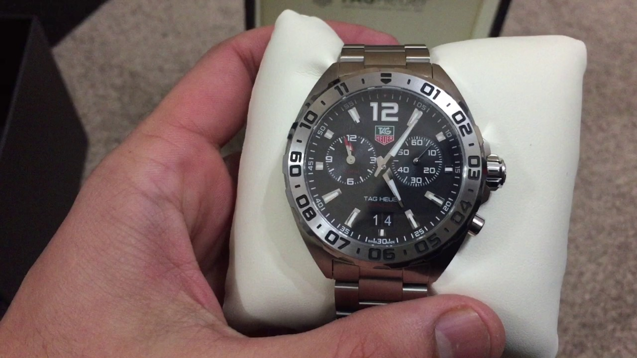tag heuer formula 1 quartz stainless steel mens watch