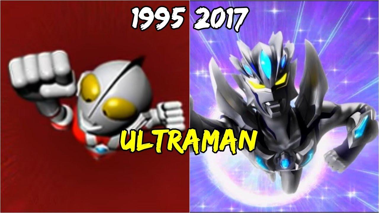 Ultraman Games Evolution 1995 2017 Ps Youtube