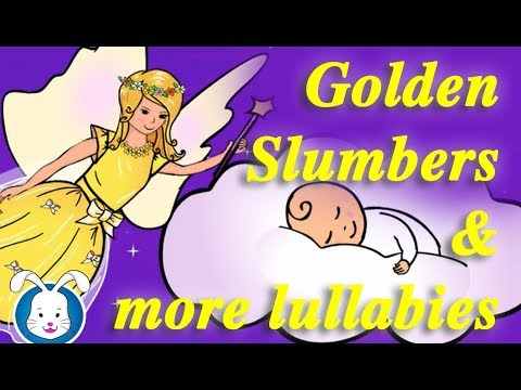 Golden Slumbers & More Lullabies with lyrics | Lullaby songs & music to help your baby sleep