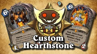 TOP CUSTOM CARDS OF THE WEEK #8 - Custom Boomsday Stuff!   Card Review   Hearthstone