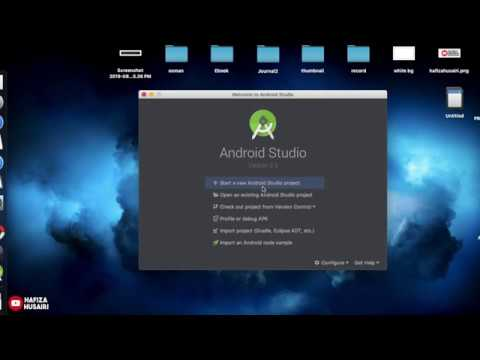 How To Install Android Studio On Mac In 2019 (malay)