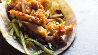 Best Asian Chicken Tacos recipe by SAM THE COOKING GUY