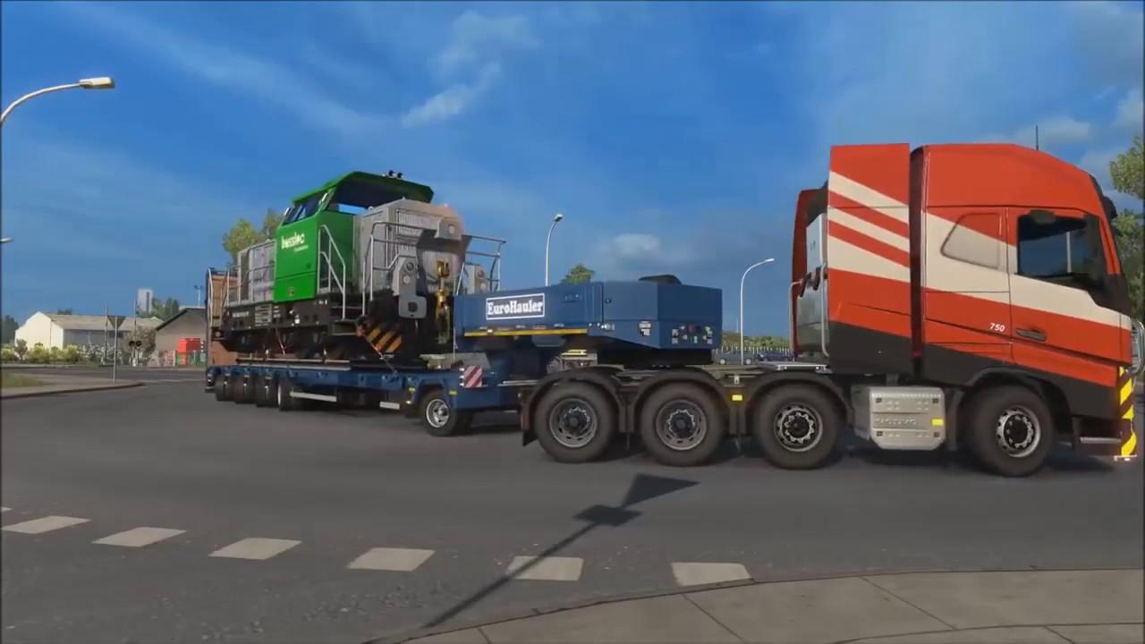 euro truck simulator 2 heavy cargo pack download youtube. Black Bedroom Furniture Sets. Home Design Ideas