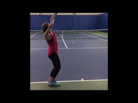 Abigail Evans Tennis Recruitment Video
