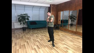 Salsa footwork s Pavlem - živě ze Stolárny