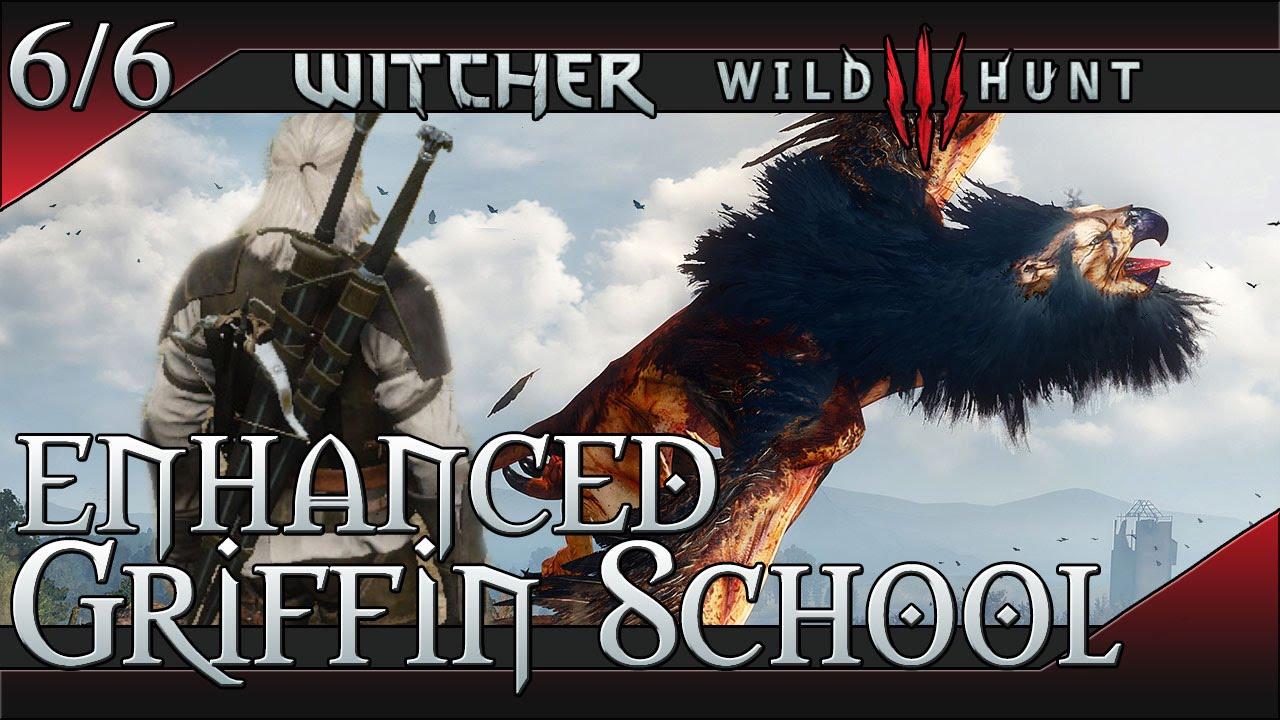 Enhanced Griffin Gear Witcher 3 Armor