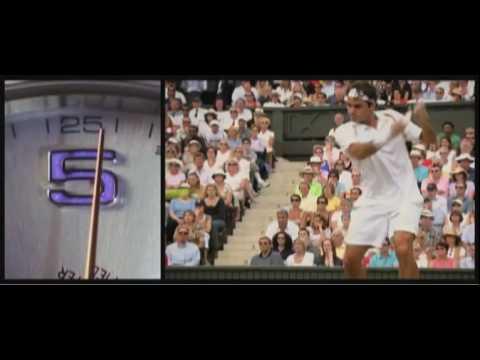 Roger Federer's Rolex Commercial for Wimbledon 2010