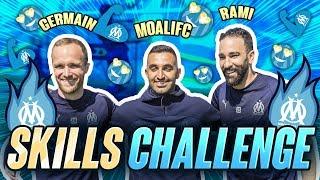 Adil Rami, Valère Germain Skills challenge avec MOALIFC