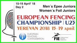 Day 02 2018 European fencing championships U23 - Green
