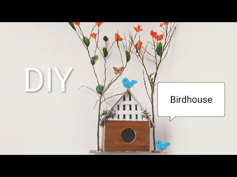 DIY How to make a Birdhouse with PVC // Best out of waste