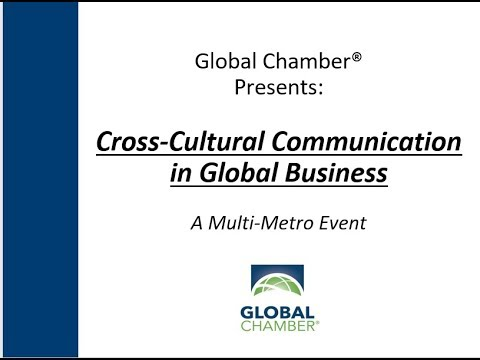 Multi-Metro Event: Cross-Cultural Communications in Global Business
