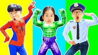 Collection d'histoires - Boram se transforme en super-héros