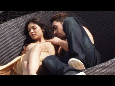 bollywood actress sara loren s hot intimate scene in ishq