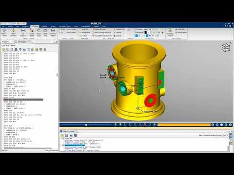 Measure Features with VERICUT's X-Caliper