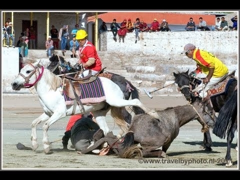 Ladakh: a Polo Match in Leh with excitement and laughter as the referee falls of his horse