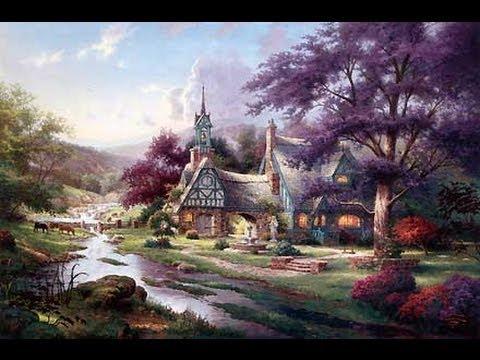 clocktower cottage by thomas kinkade youtube rh youtube com