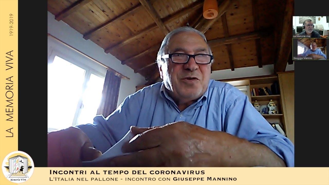 Giuseppe Mannino: l'Italia nel pallone