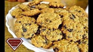 VEGAN OATMEAL RAISIN COOKIES |Easy Vegan Recipes |Cooking With Carolyn