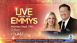 Dayna Previews The Emmy Governors Ball and Steals Two Ferns