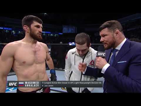 UFC Норфолк: Магомед Анкалаев - Слова после боя