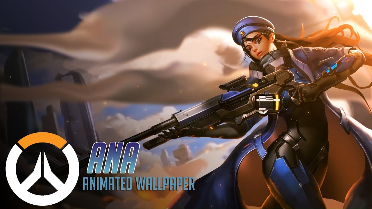 Ana | Animated Wallpaper TimeLapse