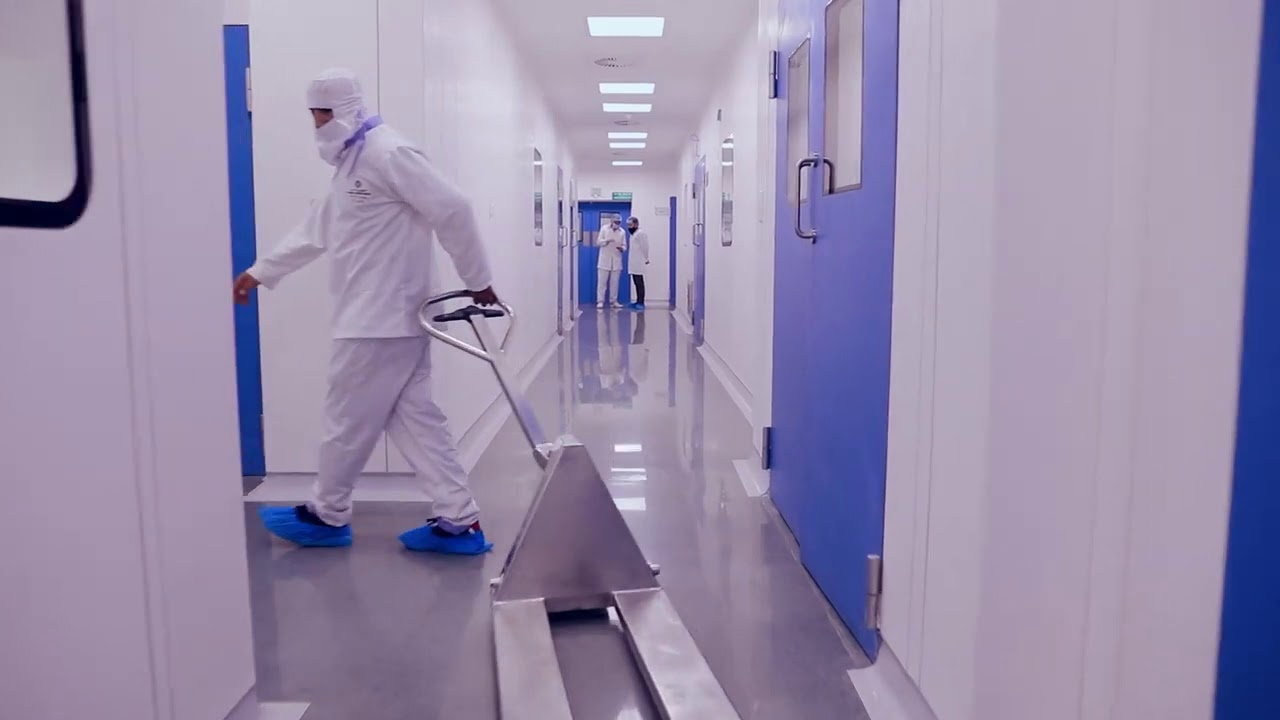 Pharma International Jordan, A Cleanroom project by MRC Cleanrooms