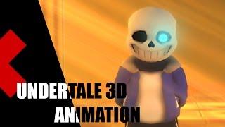 undertale 3d animation judgement hall