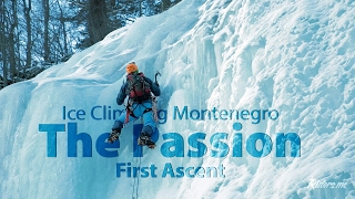 Ice climbing - Montenegro - The Passion