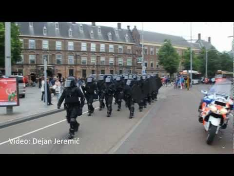 31-05-2012: Overdracht commando Koninklijke Marechaussee - Binnenhof, Den Haag