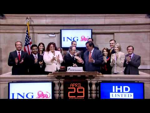 29 April 2011 ING Investment Management rings the NYSE Opening Bell