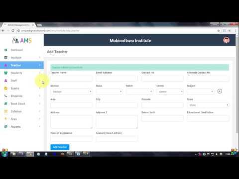 Admin Management System (AMS)