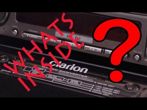 Whats inside ? Clarion HX-D2 DRZ9255 GUTS