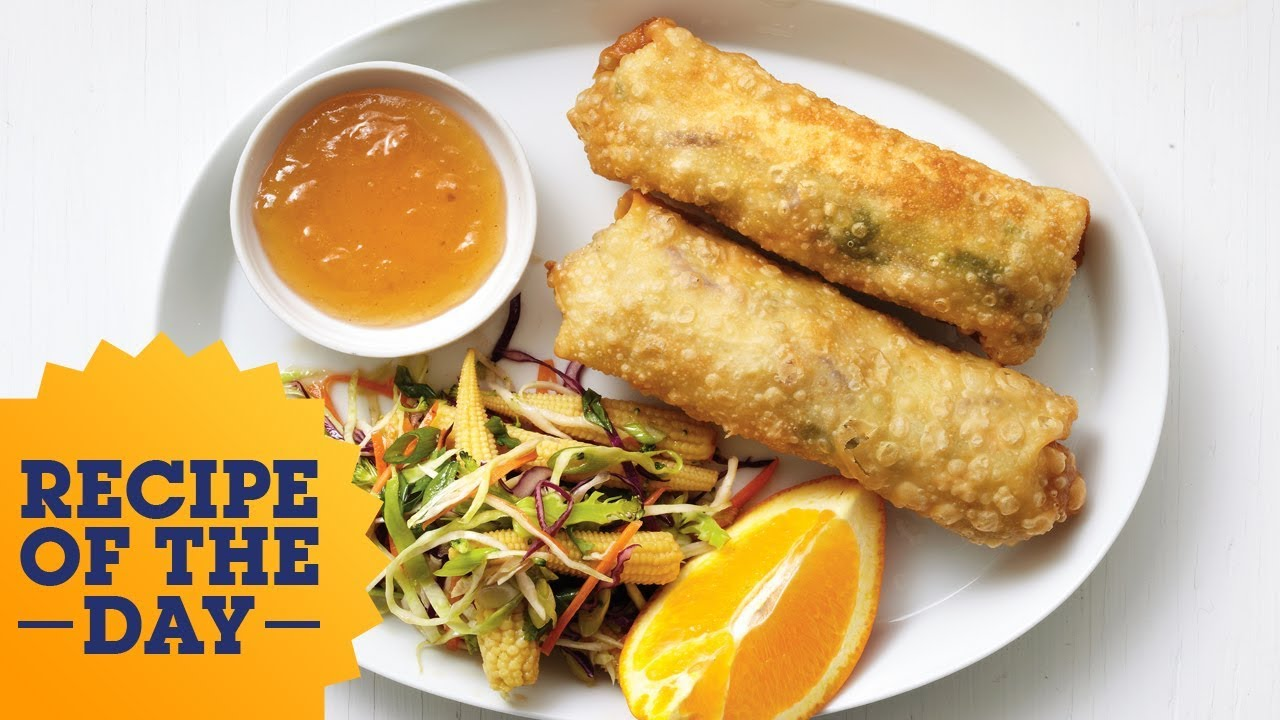 Recipe of the day chicken egg rolls with broccoli slaw food recipe of the day chicken egg rolls with broccoli slaw food network forumfinder Image collections