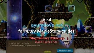 Ayumilove MapleStory Black Heaven Act 1 Storyline