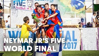 Romania faces Great Britain in the Neymar Jr's Five World Final | Praia Grande, Brazil