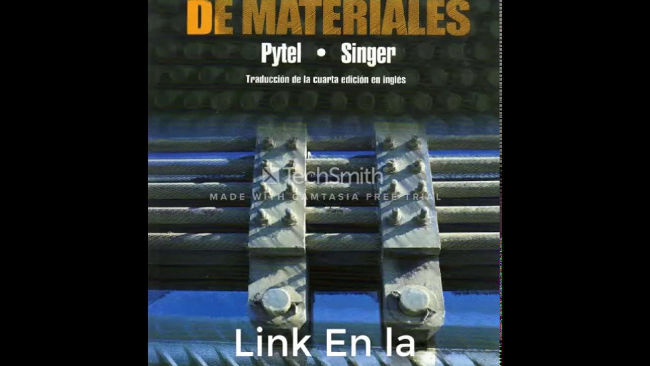 solucionario resistencia de materiales singer 4ta edicion