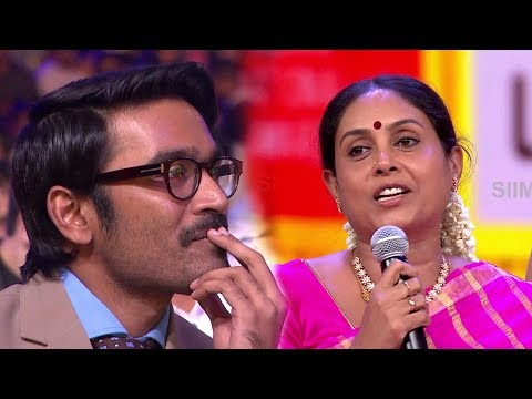 Dhanush Gets Emotional On Saranya's Speech