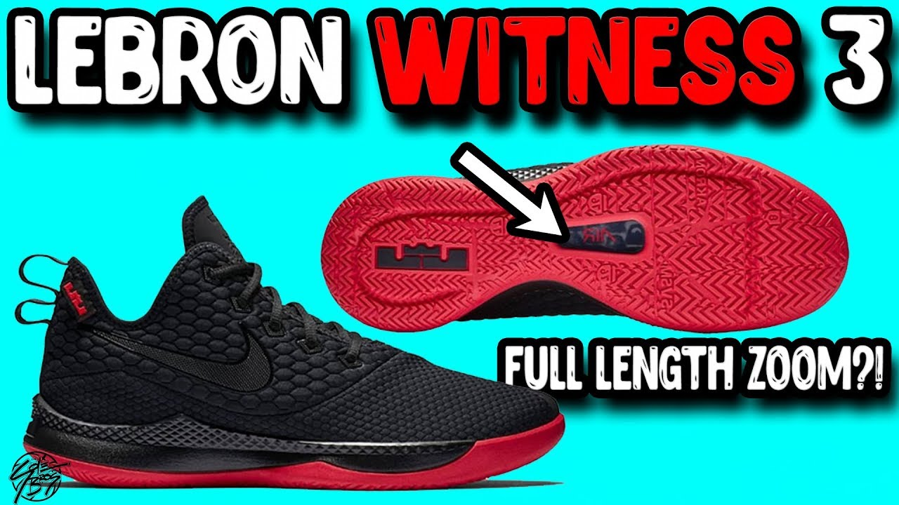 ccc1811a331c Nike Lebron Witness 3 Initial Thoughts! It Has Full Length Zoom ...