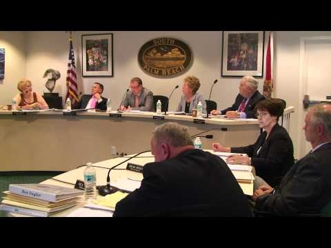 Stella G. Jordan - Police Comments - South Palm Beach Town Council - Budget Meeting - July 2010